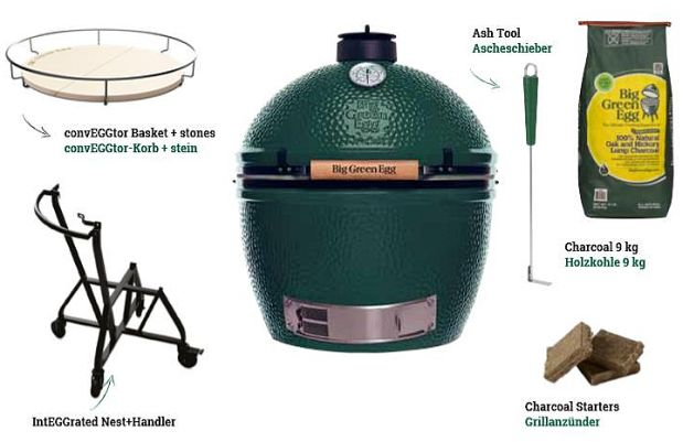 Big Green Egg Starter-Paket Medium