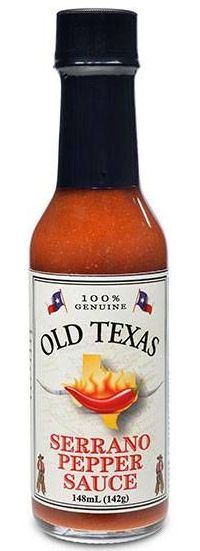 Old Texas Serrano Pepper Sauce